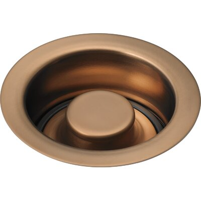 Kitchen Disposal and Stopper Flange Finish: Brushed Bronze Brilliance