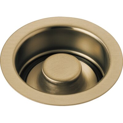 Kitchen Disposal and Stopper Flange Finish: Brilliance Champagne Bronze