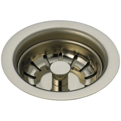 Kitchen Sink Flange and Basket Strainer Stopper Flange Finish: Brilliance Polished Nickel