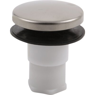Replacement Stopper Finish: Brilliance Stainless