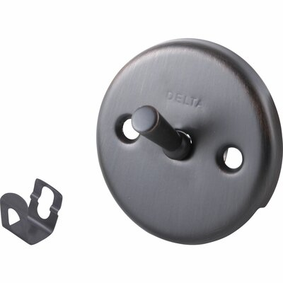 Replacement Overflow Plate Assembly with Trip Lever Finish: Venetian Bronze