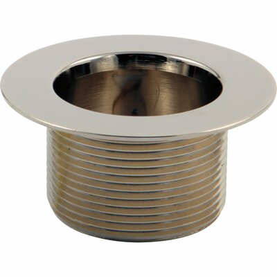 Toe Operated Waste Plug Finish: Brilliance Polished Nickel