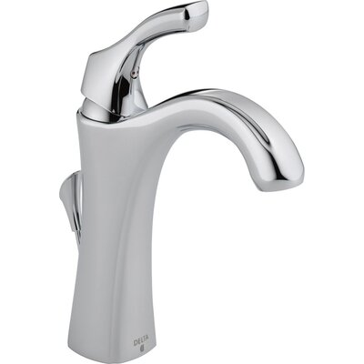 Addison Single Hole Bathroom Faucet with Diamond Seal Technology with Metal Pop-Up Drain Finish: Chrome