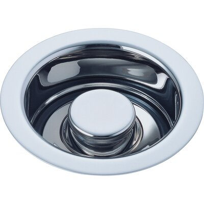 Kitchen Disposal and Stopper Flange Finish: Chrome