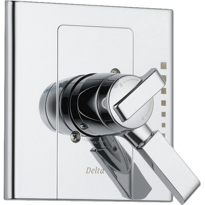 Urban - Arzo Diverter Faucet Trim Only with Lever Handles Finish: Chrome