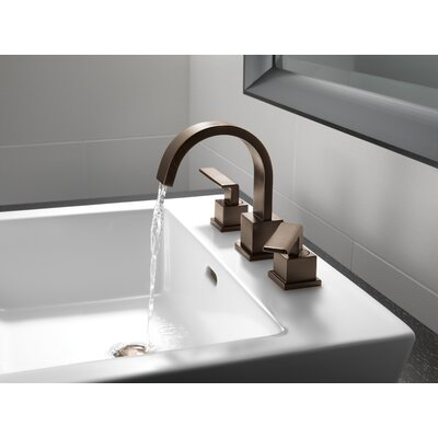 Vero Two Handle Widespread Bathroom Faucet Finish: Venetian Bronze