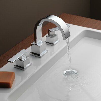 Vero Two Handle Widespread Bathroom Faucet Finish: Chrome