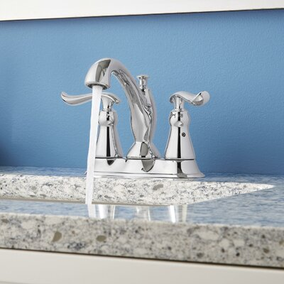 Linden Standard Lever Handle Bathroom Faucet with Drain Assembly Finish: Chrome