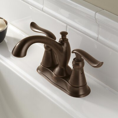 Linden Standard Lever Handle Bathroom Faucet with Drain Assembly Finish: Venetian Bronze