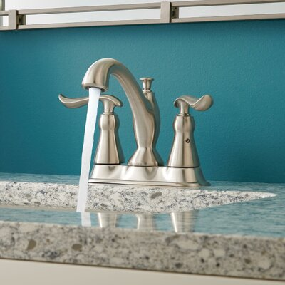 Linden Standard Lever Handle Bathroom Faucet with Drain Assembly Finish: Brilliance Stainless