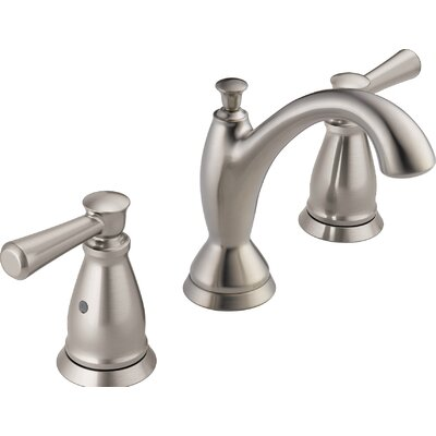 Linden� Widespread Standard Bathroom Faucet Double Handle Finish: Brilliance Stainless
