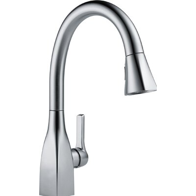 Mateo� Single Handle Deck Mounted Kitchen Faucet Finish: Arctic Stainless