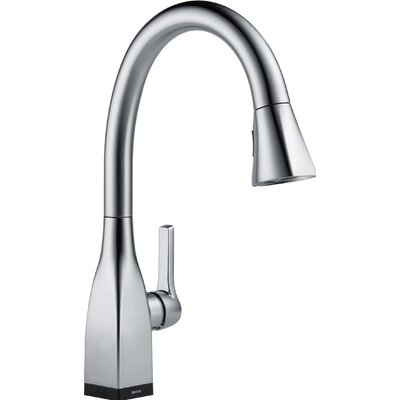 Mateo Pull Down Touch Single Handle Kitchen Faucet with LED Light Finish: Arctic Stainless