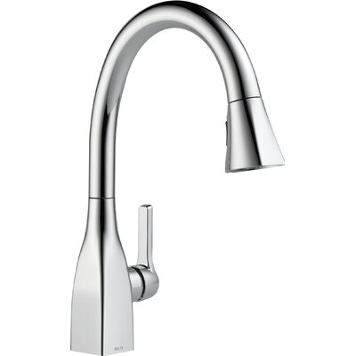 Mateo� Single Handle Deck Mounted Kitchen Faucet Finish: Chrome