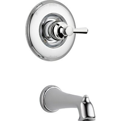 Linden� Tub Only Trim Finish: Chrome