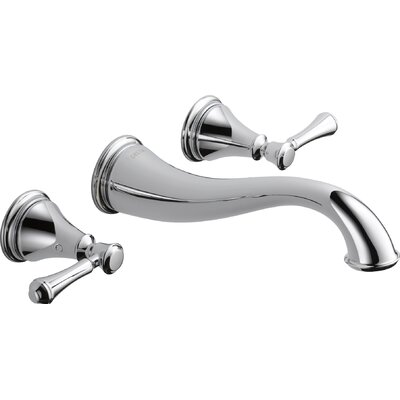 Cassidy� Bathroom Faucet Trim Double Handle Finish: Chrome