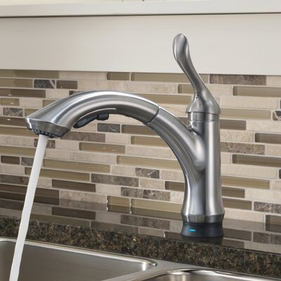 Linden Standard Pull Out Touchless Single Handle Kitchen Faucet Finish: Arctic Stainless