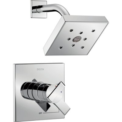 Ara Monitor� Shower Faucet Trim Finish: Chrome