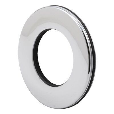 Graves Tub and Shower Faucet Trim  Ring Finish: Chrome