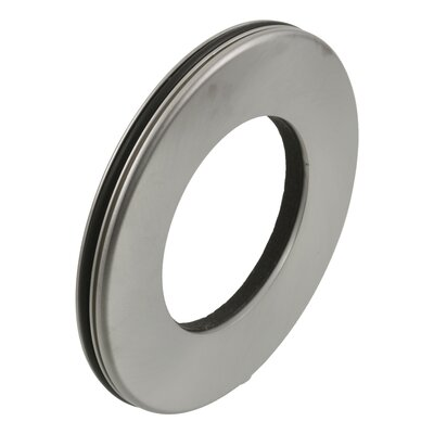 Graves Tub and Shower Faucet Trim  Ring Finish: Brilliance Stainless