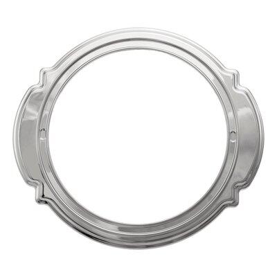 Victorian Escutcheon Trim Ring Bathroom Faucet Finish: Chrome