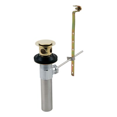Replacement Pop Up Bathroom Sink Drain Finish: Brilliance Polished Brass