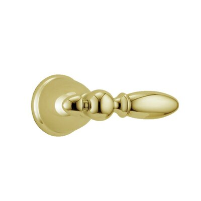 Victorian Large Metal Lever Handle Finish: Brilliance Polished Brass
