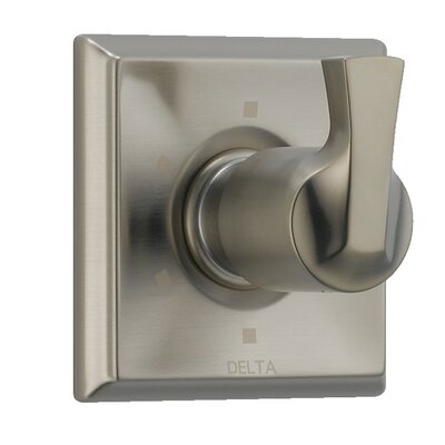 Dryden Diverter Faucet Trim Only with Level Handles Finish: Brilliance Stainless