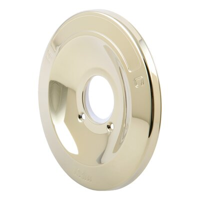 Plate Eschuton for Shower Faucet Finish: Brilliance Polished Brass