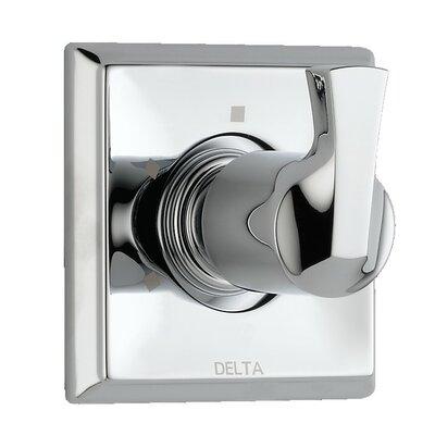 Dryden Diverter Faucet Trim with Lever Handles Finish: Chrome