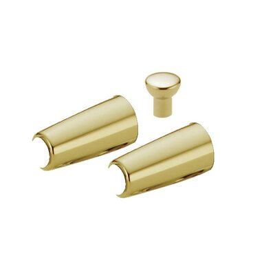 Innovations Handle Accents Bathroom Faucet with Finials Finish: Brilliance Polished Brass
