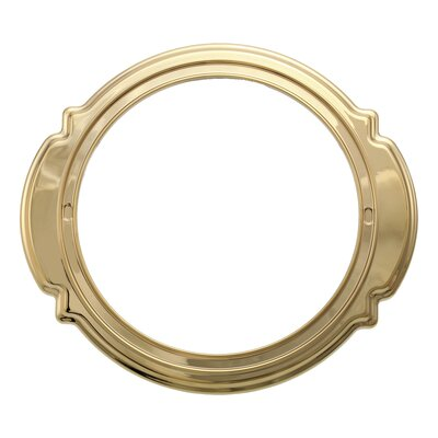 Victorian Escutcheon Trim Ring Bathroom Faucet Finish: Brilliance Polished Brass