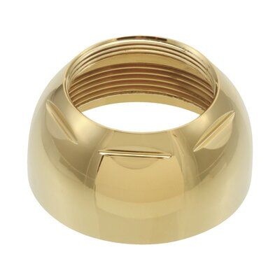 1 Bonnet Nut Finish: Brilliance Polished Brass