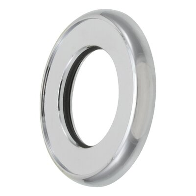 Diverter Valve Handle Trim Ring Finish: Chrome