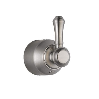 Cassidy Single Level Bath Diverter / Transfer Valve Handle Kit Finish: Brilliance Stainless