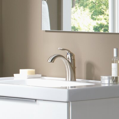 Lahara Standard Lever Handle Bathroom Faucet Finish: Brilliance Stainless