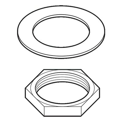 Roman Tub Nuts and Washers