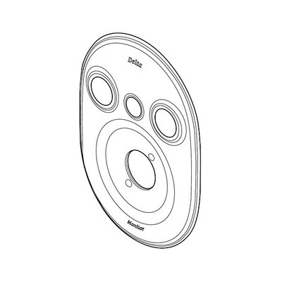 18 Series Escutcheon Finish: Chrome