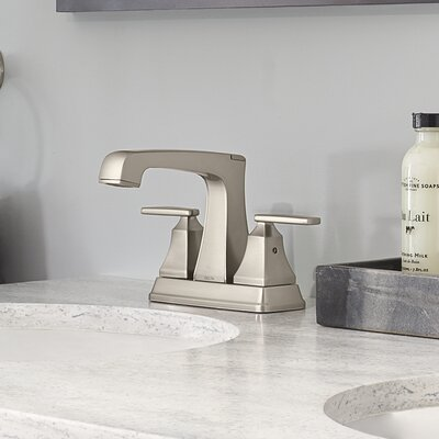 Ashlyn Standard Bathroom Faucet Lever Handle with Drain Assembly Finish: Brilliance Stainless