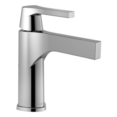 Zura Single Handle Bathroom Faucet Finish: Chrome