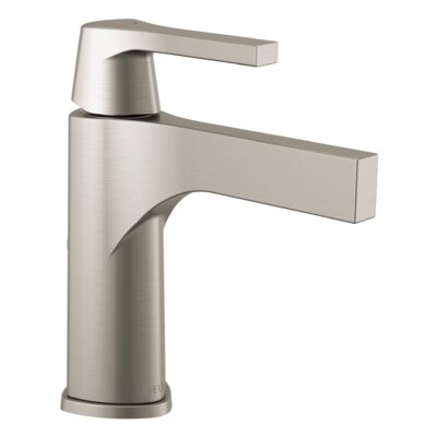 Zura Single Handle Bathroom Faucet Finish: Stainless