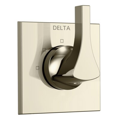 Zura Pressure Balance Trim with Single Handle Finish: Polished Nickel