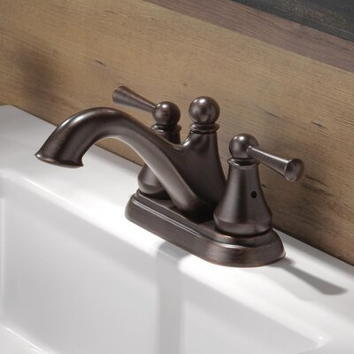 Haywood Double Handle Centerset Bathroom Faucet Finish: Venetian Bronze