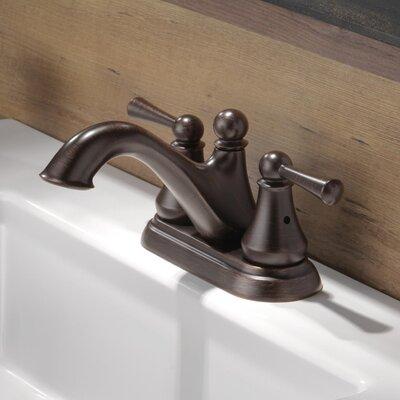 Haywood Double Handle Centerset Bathroom Faucet Finish: Venetian Bronze