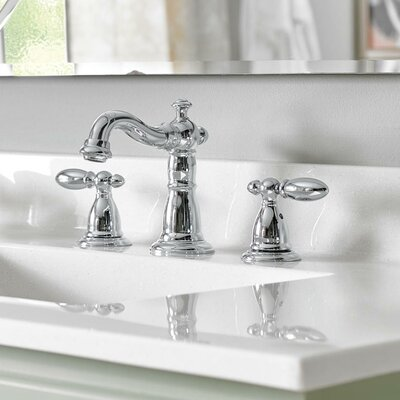 Victorian Standard Bathroom Faucet Lever Finish: Chrome