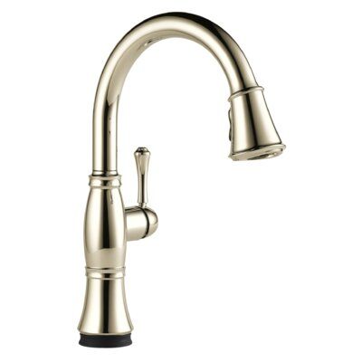 Cassidy Single Handle Pull Down Kitchen Faucet with Touch2O Technology