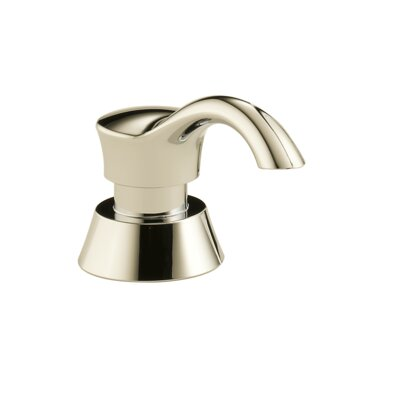 Deluca Soap and Lotion Dispenser Finish: Polished Nickel