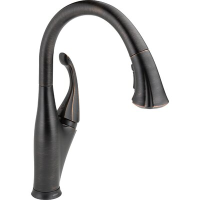 Addison Touchless Single Handle Standard Kitchen Faucet Finish: Venetian Bronze