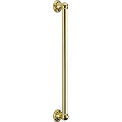Universal Showering Components Ada Compliant Grab Bar Finish: Brilliance Polished Brass