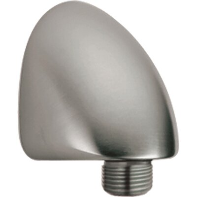 Wall Supply Elbow Shower Faucet Finish: Pearl Nickel